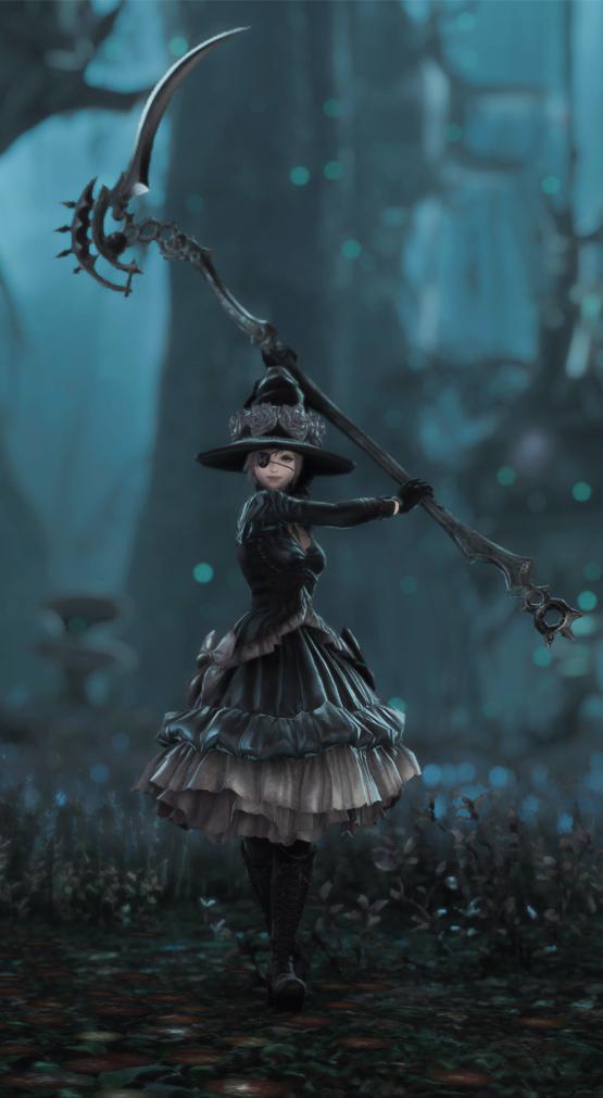 ブラックボゾム・ドレス